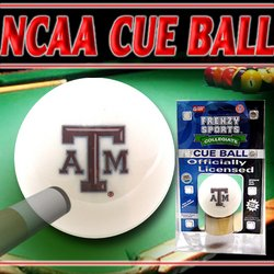 Officially Licensed Billiards Cue Ball - Texas A&M