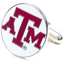 NCAA Logo'd Executive Cufflinks w/ Jewelry Box - Texas A&M