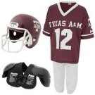 Youth NCAA Team Helmet and Uniform Set - Medium - Texas A&M
