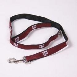 NCAA Football Dog Collars - Large Lead - Texas A&M