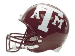"Full Size ""Deluxe"" Replica NCAA Helmet  - Texas A&M"