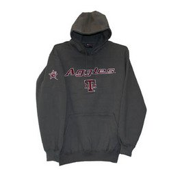 Hoodie - Gray - XL - Texas A&M