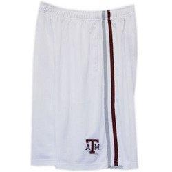 Basketball Mesh Shorts - White - M - Texas A&M
