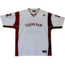 Football Jersey - White - XL - Texas A&M