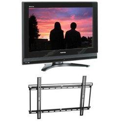 42'' Inch TV with Omnimount Fixed Flat Panel Mount - Toshiba***