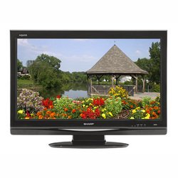 37-Inch 720p AQUOS HD-LCD TV - Black - Sharp
