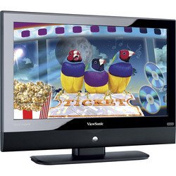 "32"" Widescreen HDTV LCD TV - Viewsonic"