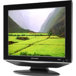 "15"" Flat Panel LCD TV - Sharp"
