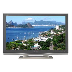 46'' Inch 1080p Aquos HD-LCD TV - Black/Silver - Sharp