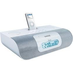 iPod® Stereo Docking System With Dual Alarm - White - iLuv