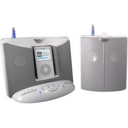 Digital Wireless Speaker System For iPod® - White - Eos Wireless