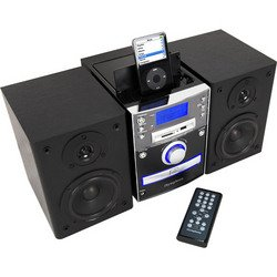 Micro Music System With Built-In iPod® Dock - iSymphony