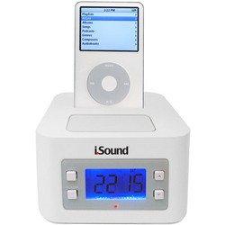 Time Travel Alarm Clock - White - I.Sound