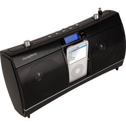 Clock Radio Music System With Built-In iPod® Dock - iSymphony