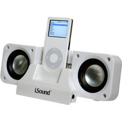 2X Plus Portable Speaker System - White - I.Sound