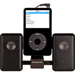 Black Portable Amplified Mini Speaker - iSymphony
