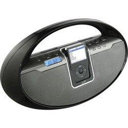Portable iPod® Docking System - Black - iLive