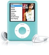 8 GB iPod Nano with Video - Blue - Apple