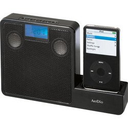2.0 Portable Audio Docking System For iPod® - Black - ArtDio