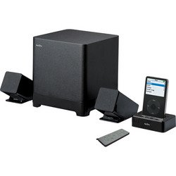 2.1 Audio Docking System For iPod® - Black - ArtDio
