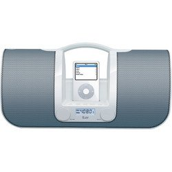 iPod® Portable Speaker System - White - iLuv