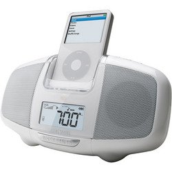 iBoom® Travel For iPod® - White - DLO