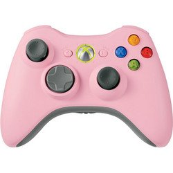 Pink Wireless Controller X360 - Microsoft