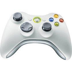 White Wireless Controller X360 - Microsoft