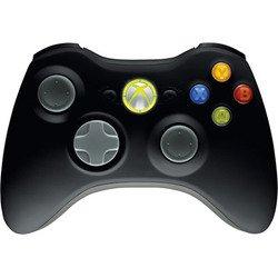 Black Wireless Controller X360 - Microsoft