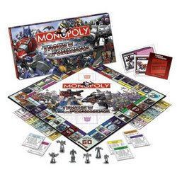 Transformers Monopoly Game - USAopoly