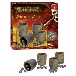 Pirates of the Caribbean 3 Dice - USAopoly