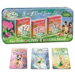Disney Fairies Playing Cards (Tin) - USAopoly