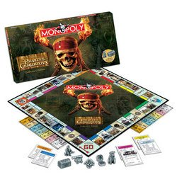Pirates of the Caribbean Monopoly (2007) - USAopoly