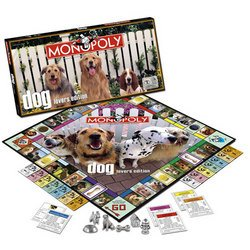 Dog Lover's Monopoly Game - USAopoly