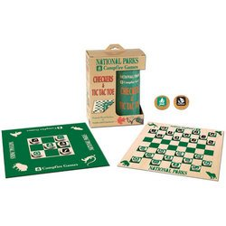 National Parks Checkers and Tic Tac Toe - USAopoly