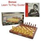 Kasparov Grandmaster Chess Set- Wooden Chess Pieces