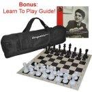 Kasparov Tournament Traveler Chess Set