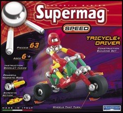 SuperMag - Tricycle + Driver
