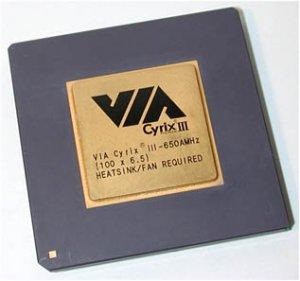 VIA C3 socket 370