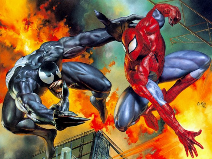 Spiderman vs Venom