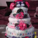 Baby Shoes Diaper Cake