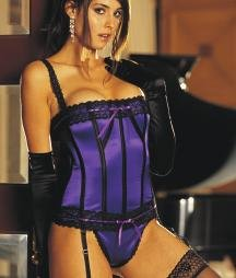29000 - Stretch Satin Corset