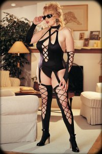 X7083 - Fabulous Lycra Strappy 4 Piece Set