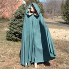 Full Circle Hooded Wool Cloak - Wicca - Civil War - LARP - Pagan - Fantasy