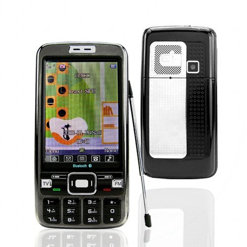 Big Screen TV Phone w/ Dual Sim