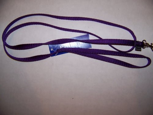 "Premier Lite Snap Leash - 3/8"" W x 4' L Purple"