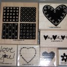 Stampin Up Loving Hearts
