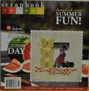 Scrapbook Trends July 2009