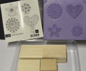 Stampin&#039; Up! Polka Dot Punches Sale-bration 2009