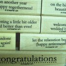 Stampin Up Congrats